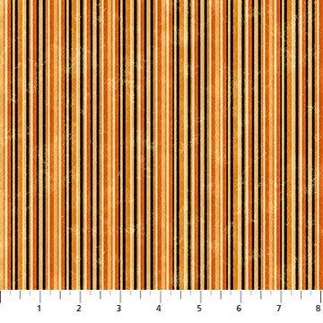 Black Cat Capers 24123-99 Barcode Stripe Black Multi