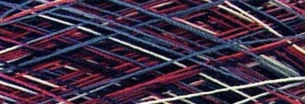YLI Variegated Machine Quilting 3000 yd 01V Red/White/Blue