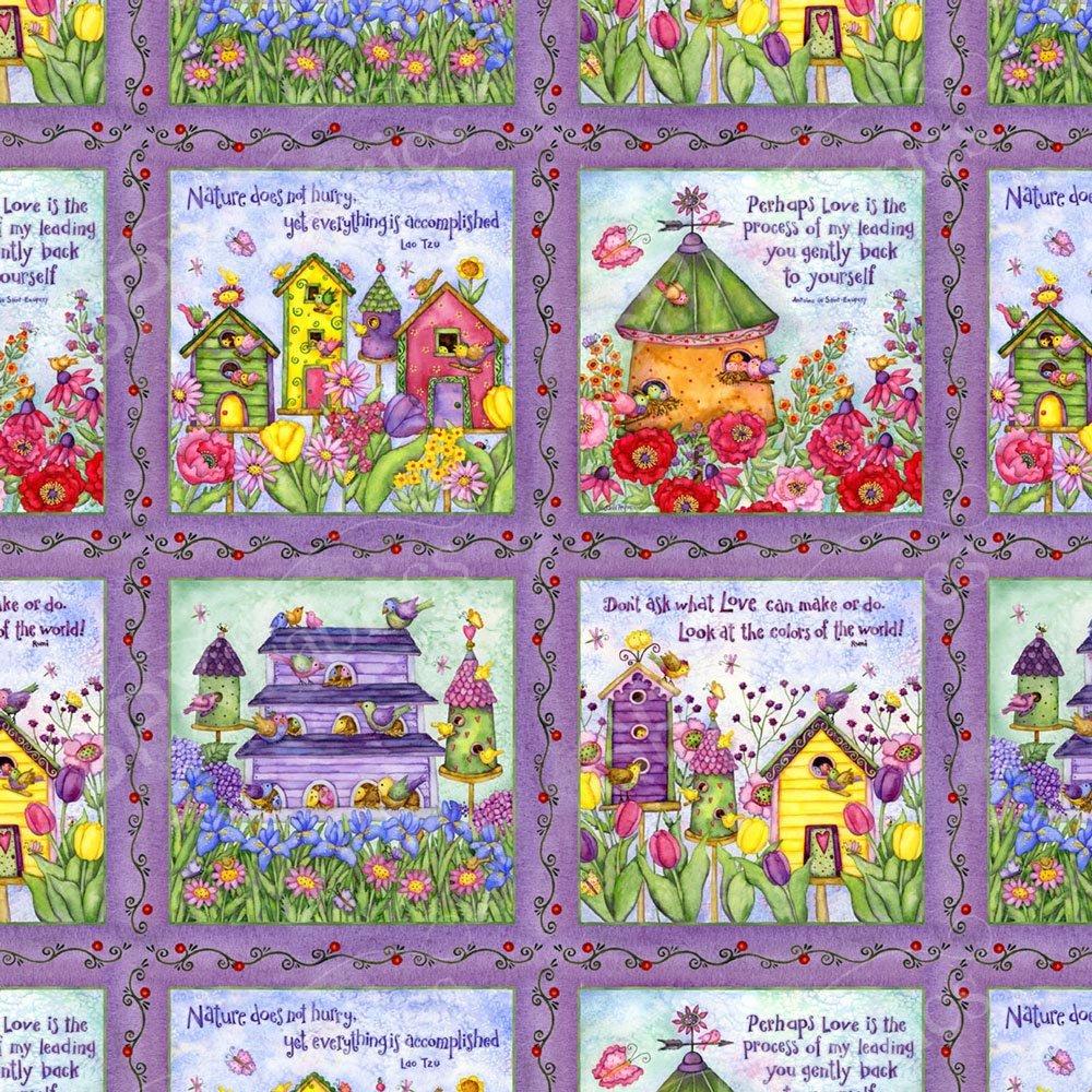 Birdhouse Gardens 25479 Multi Panel