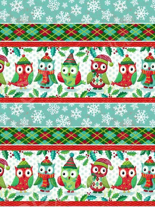 Owl Be Home For Christmas 25583 Green
