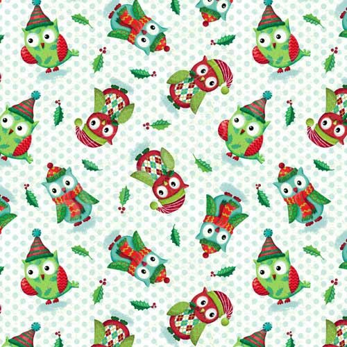 Owl Be Home For Christmas 25585 Green