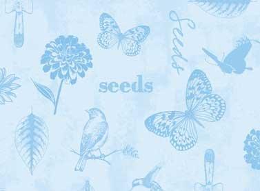 Adalee's Garden 25900 Light Blue