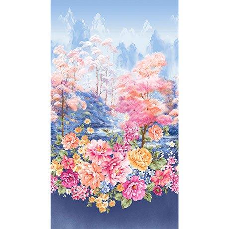 Garden Grandeur 26489-B Floral Border