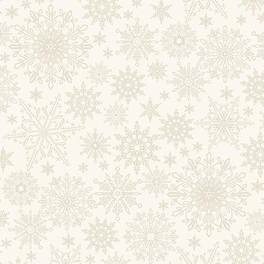 A Festive Season 3 (2649-70) Tonal Snowflake Natural)