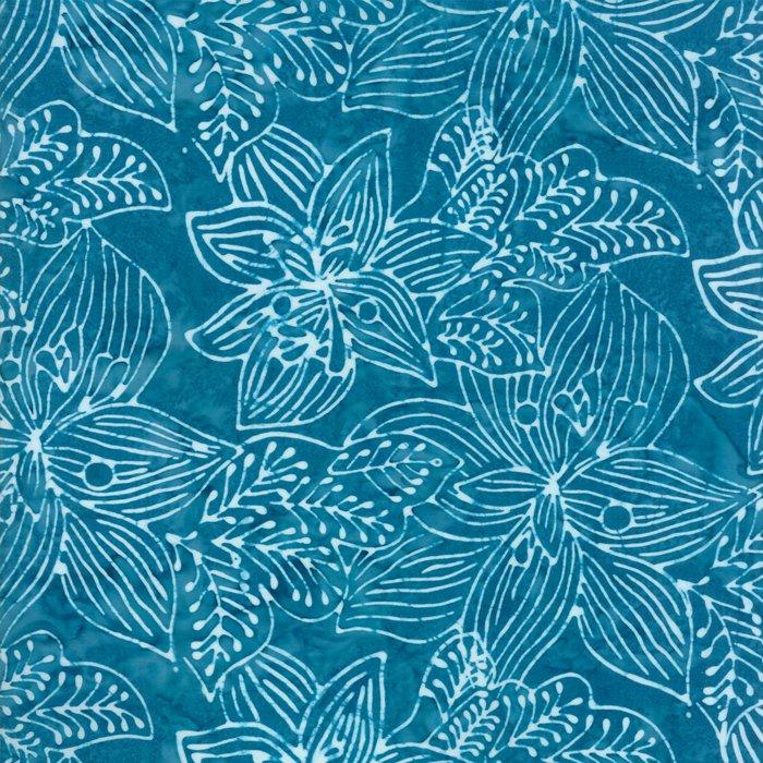 Calypso Batiks 27258-132 Turquoise