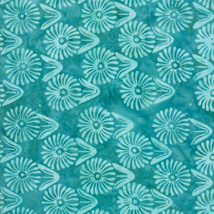 Calypso Batiks 27258-42 Turquoise