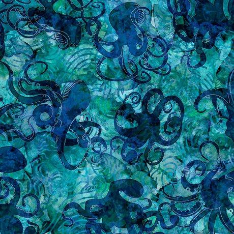 Aquatica 28122-Q Octopus Teal