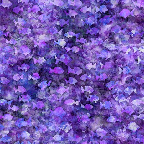Aquatica 28127-V Fish Blender Purple