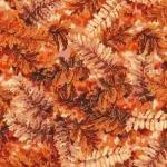 Fall's Canvas 112-29182 Ferns Rust