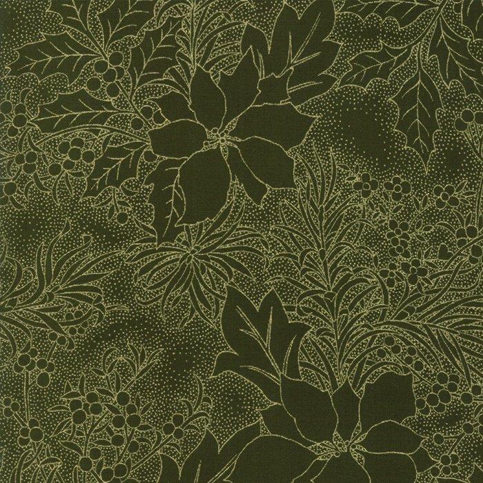 Gilded Greenery Metallic 33336-13M Evergreen