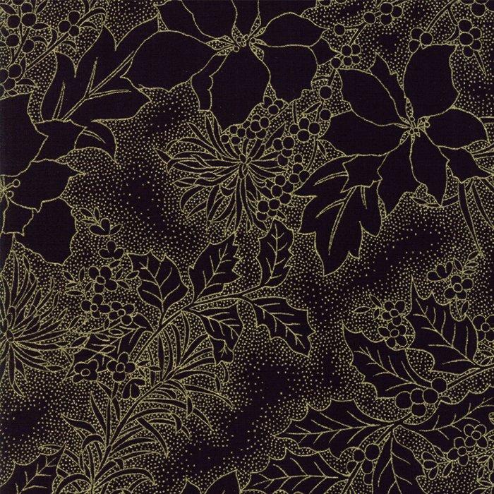 Gilded Greenery Metallic 33336-14M Ebony