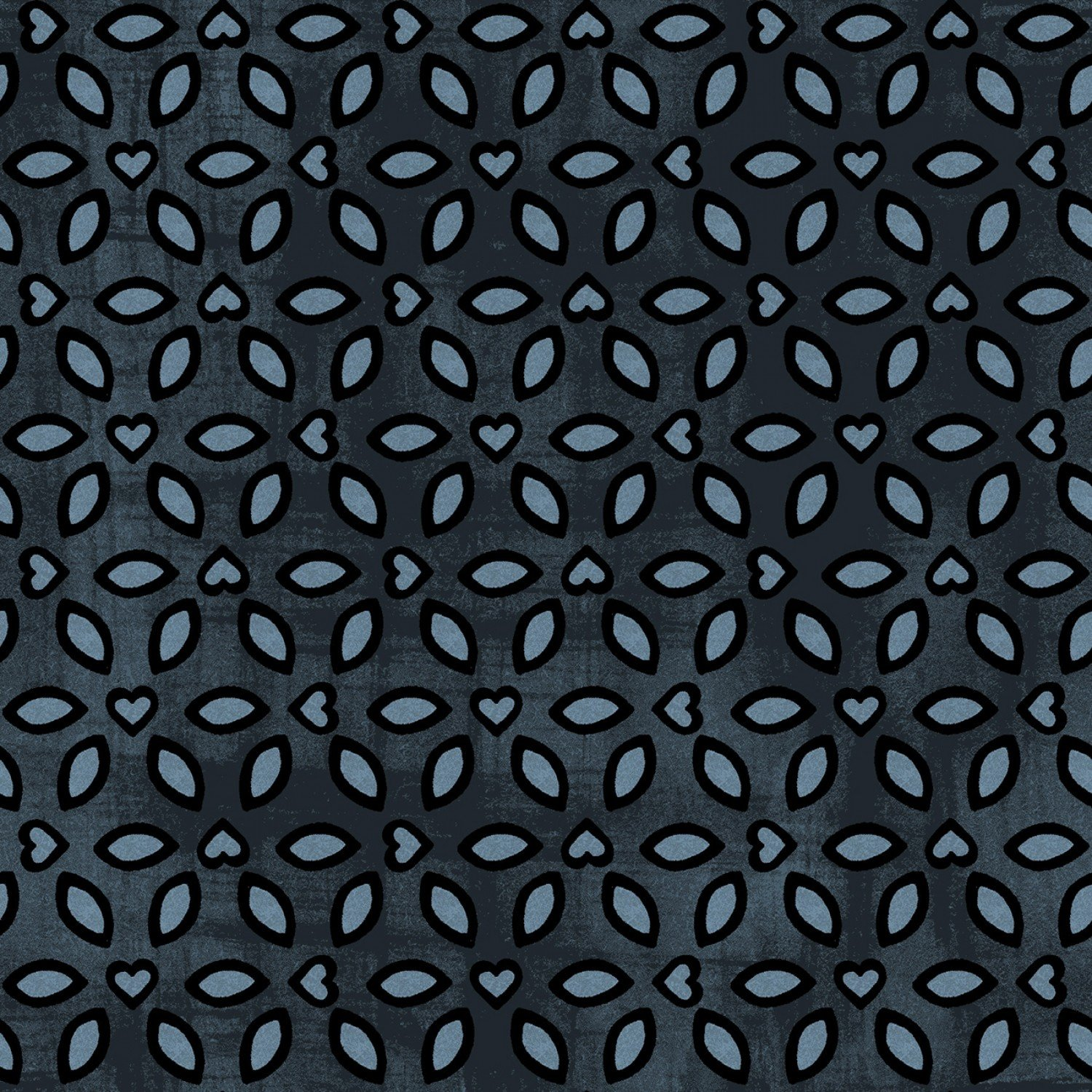 Enchanted Lake 3608-1 Lovely Lace Midnight