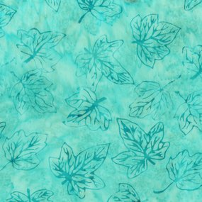 Sweet Wish 363Q-X Fall Leaves Aqua