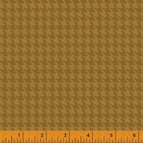 Kensington Flannel 40873-5 Houndstooth Gold
