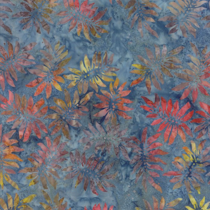 Pumpkin Pie Batiks 42289-202 Blue Moon