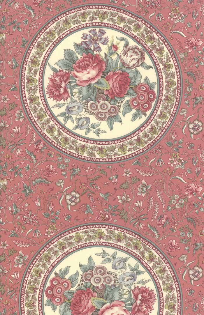 Regency Romance 42340-15 Dorchester Pink 24 Panel