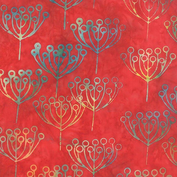 Hometown Girl Batiks 43067-50 Rainbow Cherry