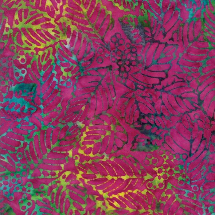 Tiki Batiks 4343-25 Magenta