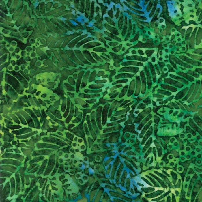 Tiki Batiks 4343-40 Emerald