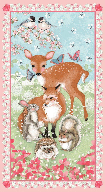 Forest Friends by Nancy Archer 4349P-22 (24 Panel)