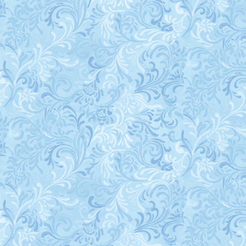 Essentials Flourish Light Blue Embellishment 51000-410