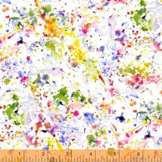 Splotch 51158-6 White