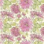 Potpourri 51655-4 Peony Chrysanthemums