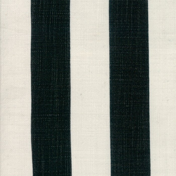 Urban Cottage Wovens 54923-11 54 Wide Stripe Ivory Black