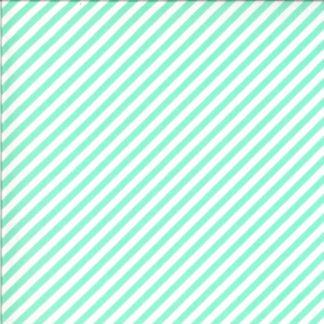 Shine On 55215-13 Stripe Aqua
