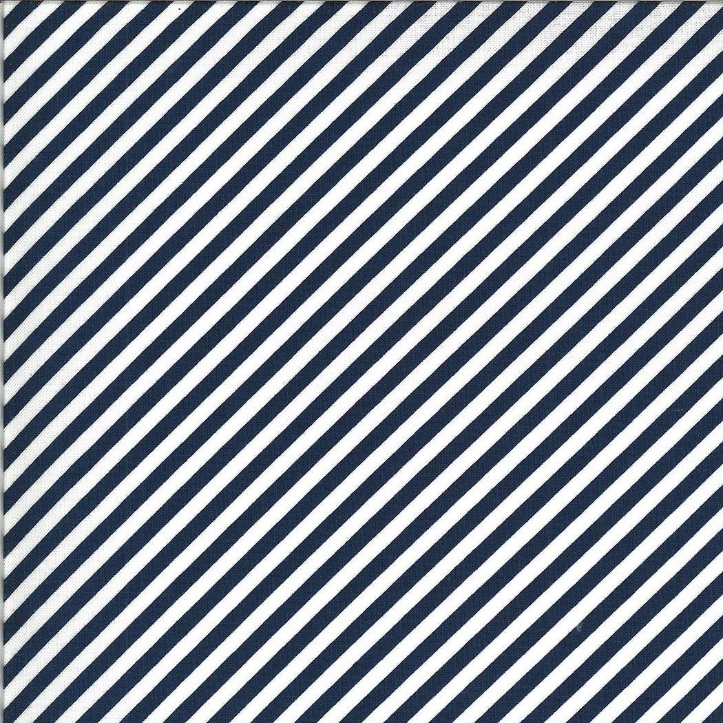 Shine On 55215-17 Stripe Navy