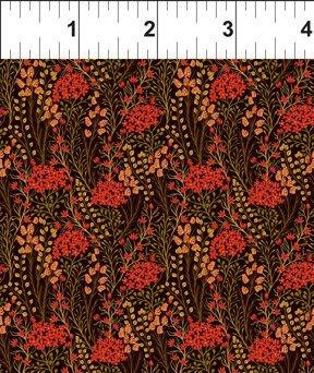 Garden Delights III 5GSG1 Prairie Flowers Red