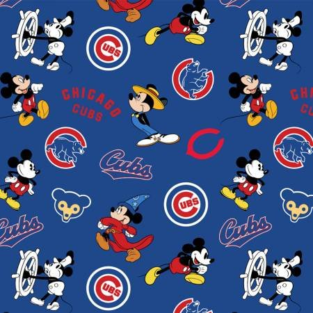 MLB Disney Mickey 60282-B Chicago Cubs
