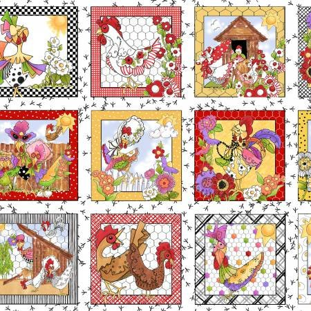 Chicken Chique 692-222 Panel White