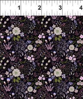 Garden Delights III 6GSG3 Floral Medley Purple