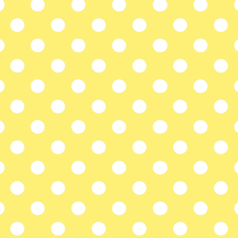Flower Sugar 745903-50 White dots on Yellow