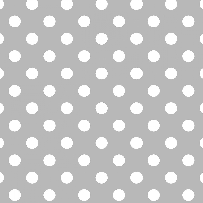 Flower Sugar 745903-90 White dots on Gray