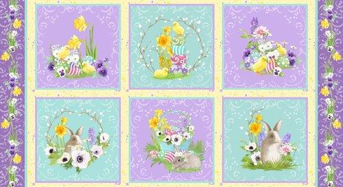 Hoppy Easter B-9422-44  (24 X45 Panel)