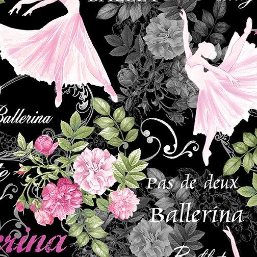 Pearl Ballet 9836P-12 Balle Theatre Black