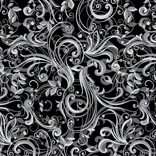 Pearl Ballet 9840P-11 Ballet Scroll Black/Gray