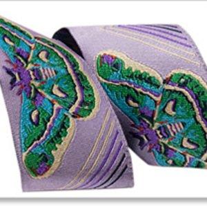 AM-015-3 Moths Lavender & Turquoise