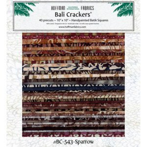Sparrow Bali Crackers BC-543 10 inch squares