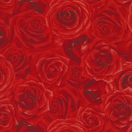 Glamour C5046 Red Packed Roses