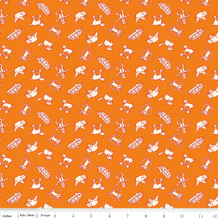 Toy Chest 3 C6765 Orange