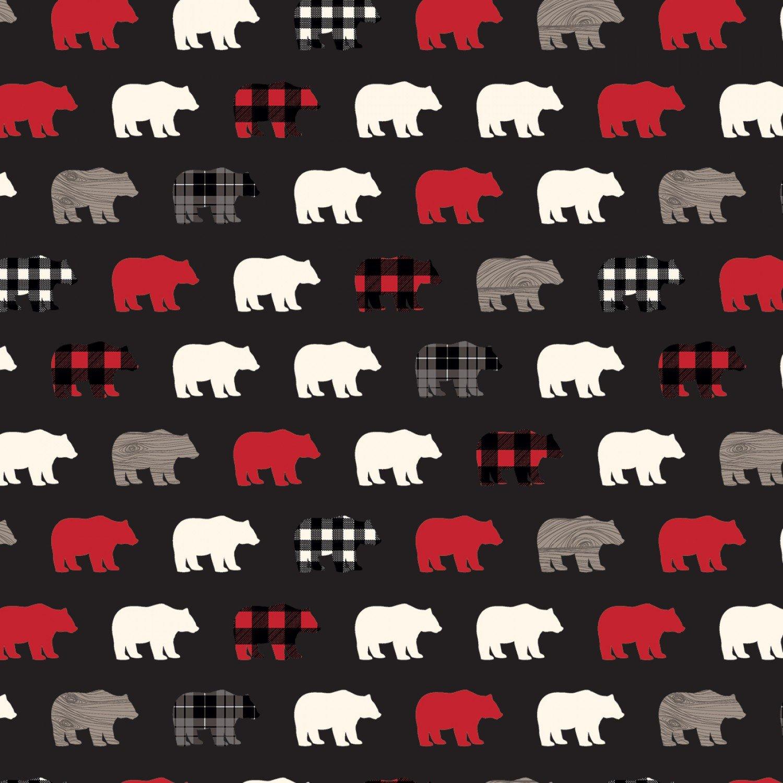 Wild At Heart  C9821 Black Bears