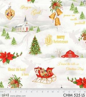 Christmas Chimes 525-LS