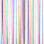 Zoo Littles - Its a Girl thing CX4844 - PINK - D Slender Stripe
