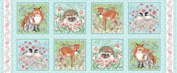 Forest Friends by Nancy Archer 4350-11 (18 Panel)