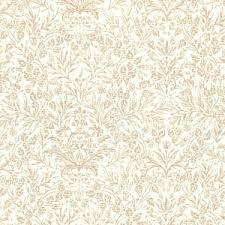 Memoire a' Paris 820817-10 Brown leaves on cream