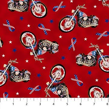 Liberty Ride 2 DP23433-24 Red Multi Bike Toss Digital