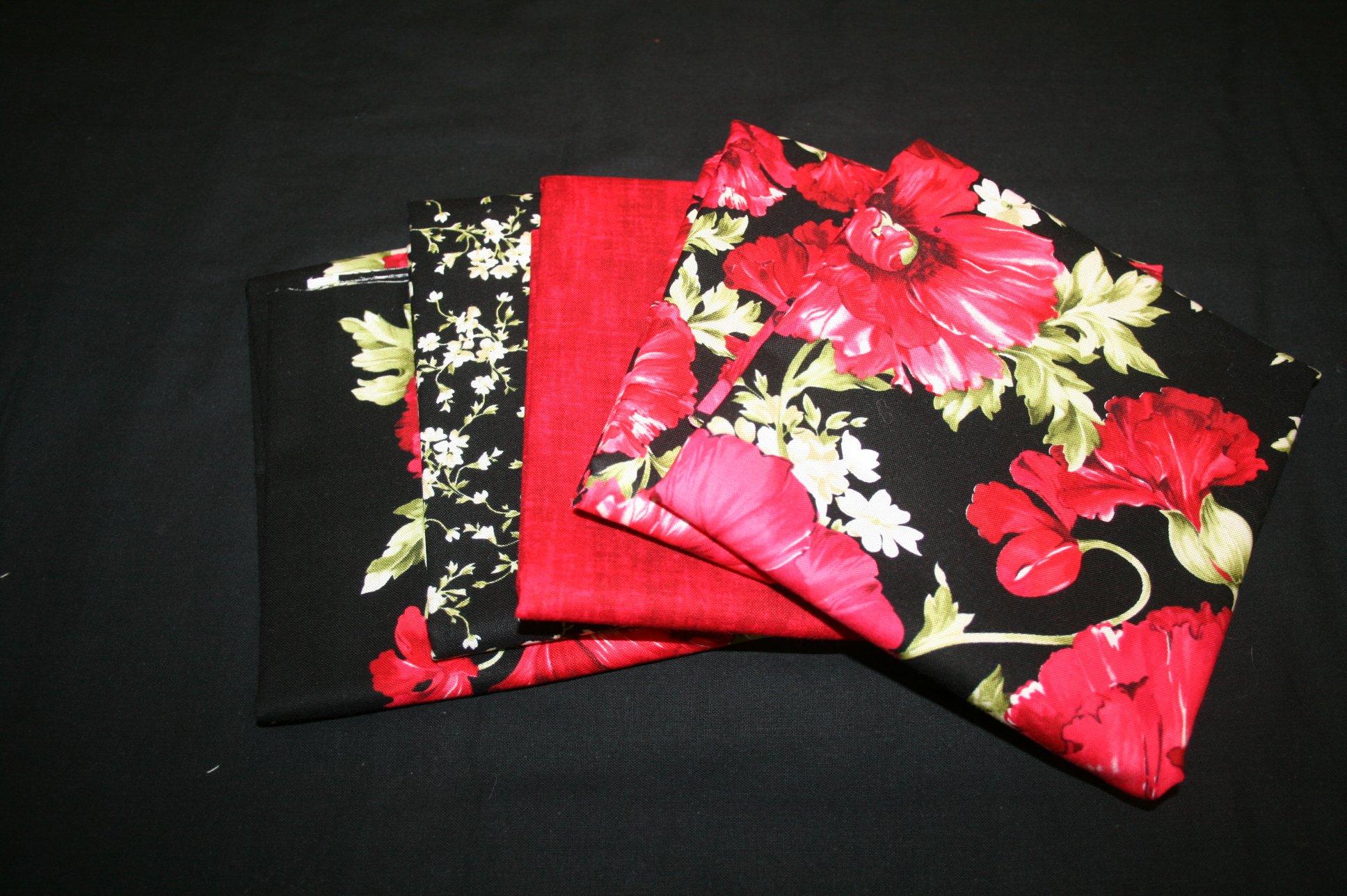 Audrey 1/2 cut bundle - 5 pieces